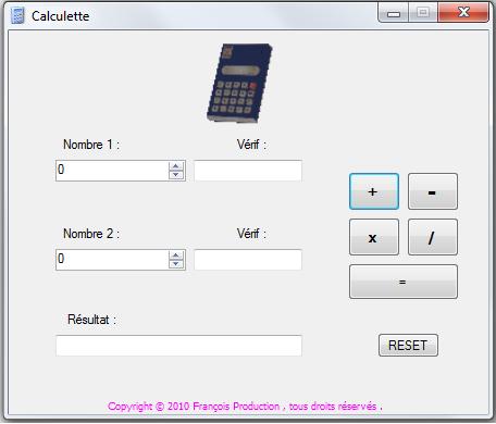 Fonction de calcul Sz11