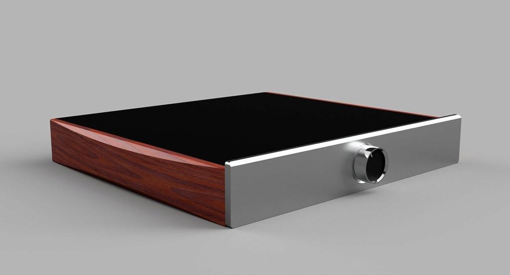 Laterales de madera para amplificador Cayin_10