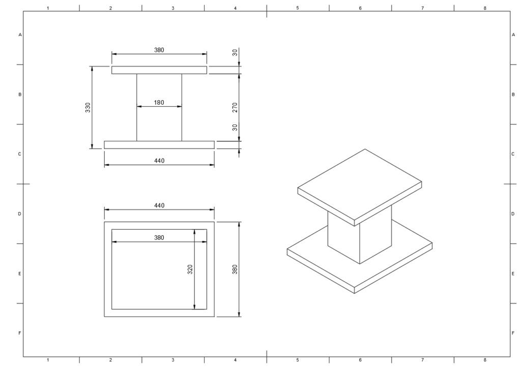 pedestal technics sbx-700a Techni10