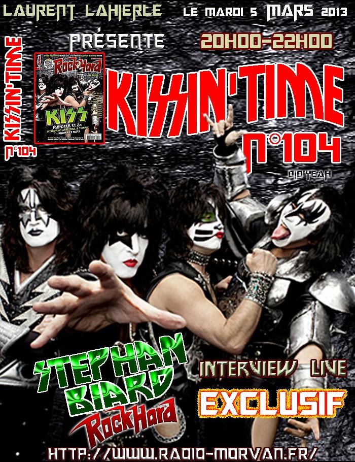 Kissin'time n°104..05 Mars 2013. Stepha12
