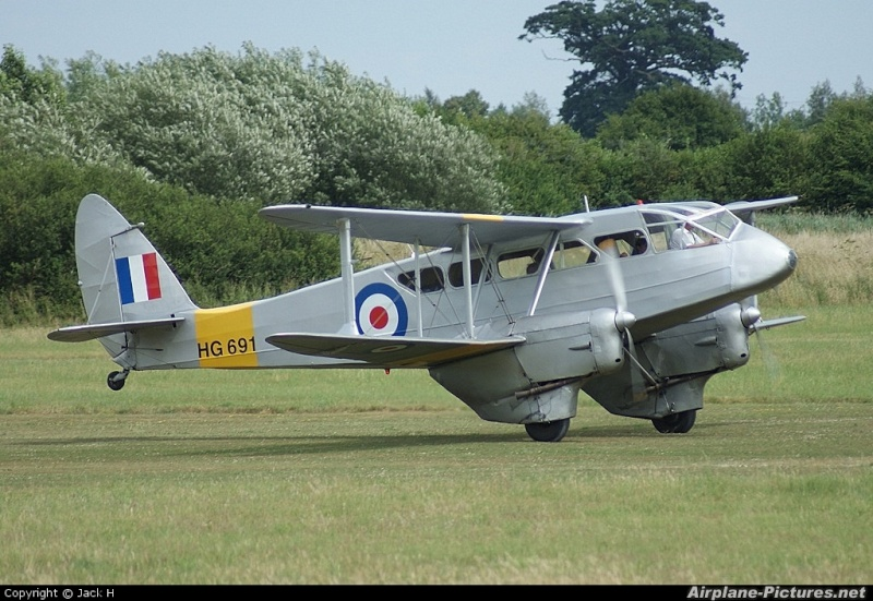 De Havilland DH.89A Dominie/Dragon Rapide Dh8910