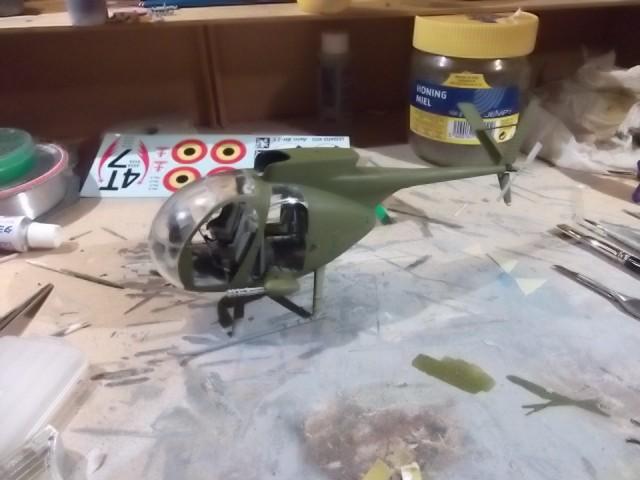 OH-6A Cayuse Dragon 1/35° Dscf3028