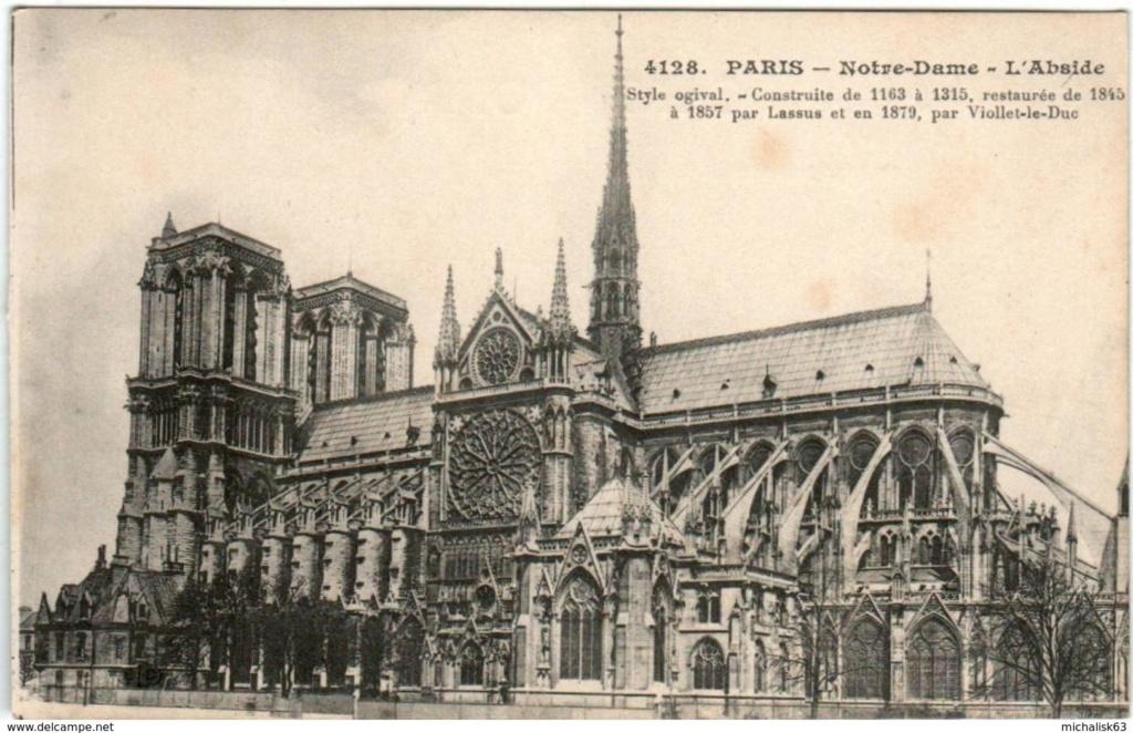 La cathédrale Notre-Dame de Paris en flammes - Page 6 Abside10