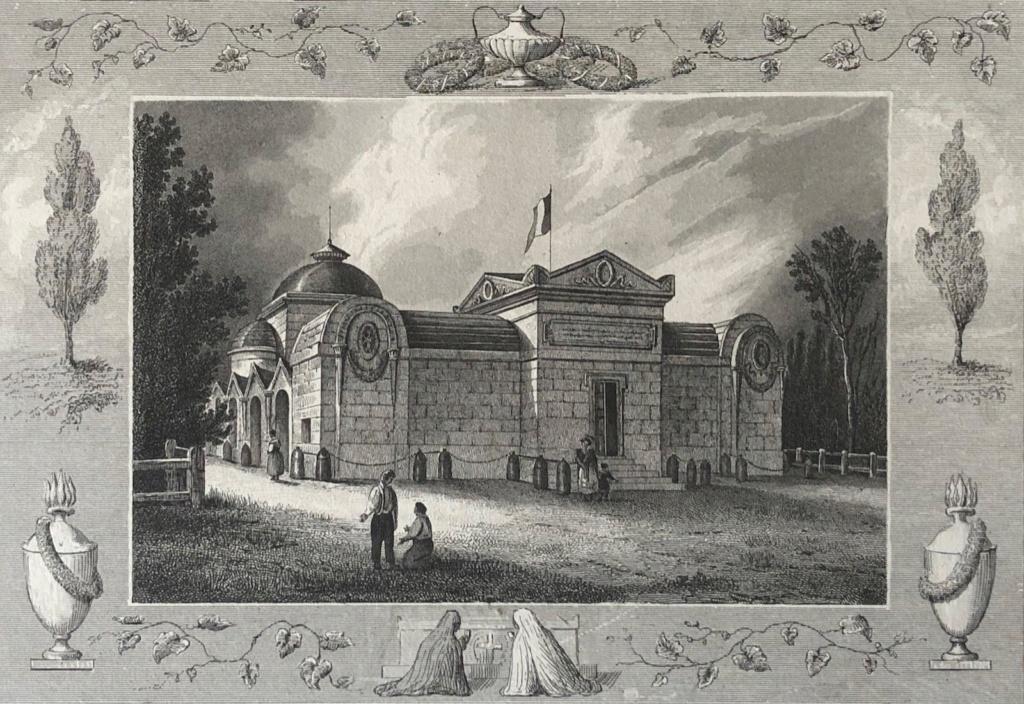 Le cimetière de la Madeleine Chapel10