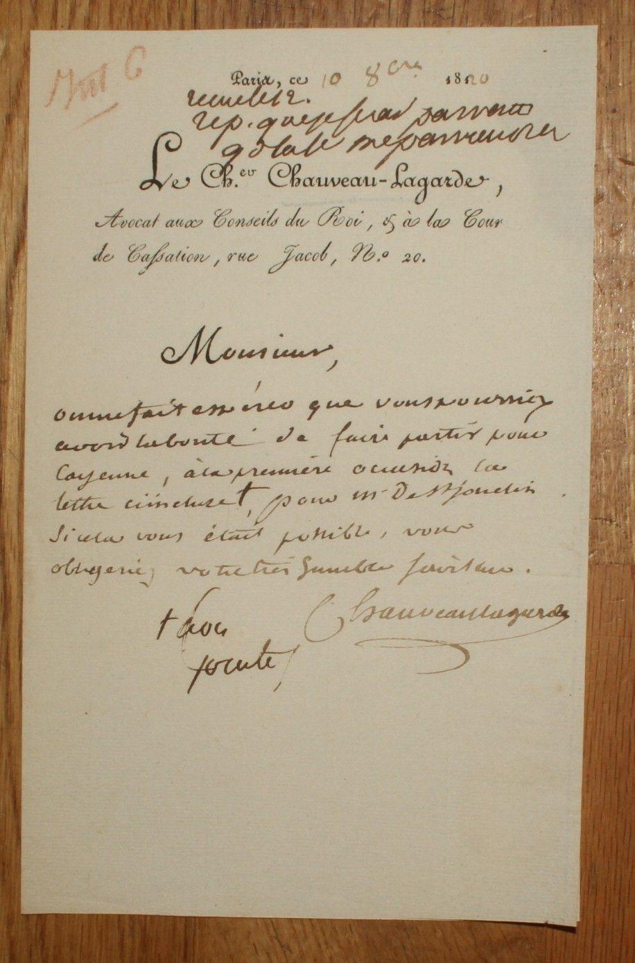 Exposition Chauveau-Lagarde à la chapelle expiatoire Chauve10