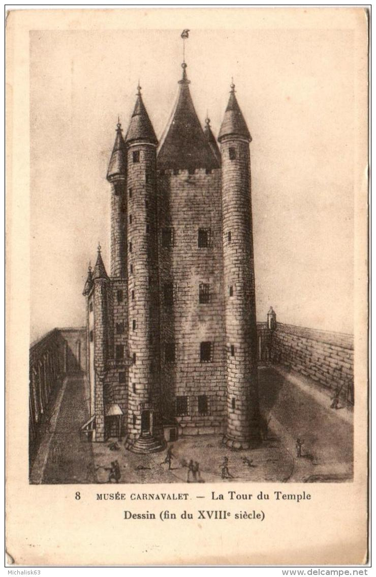 La famille royale à la prison du Temple : plans et aménagements - Page 7 Le_tem10