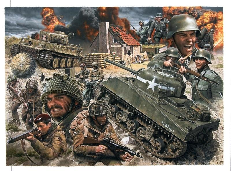 La Seconde Guerre mondiale - Page 2 Battle10