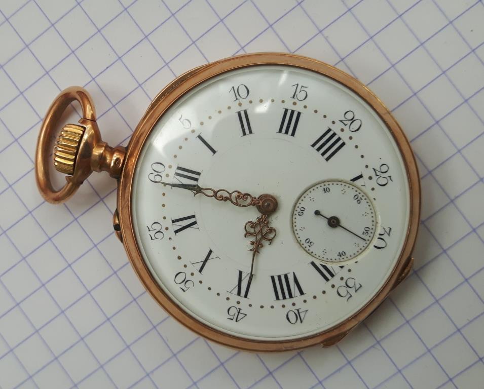 Votre montre de poche du moment ! - Page 12 Montre11
