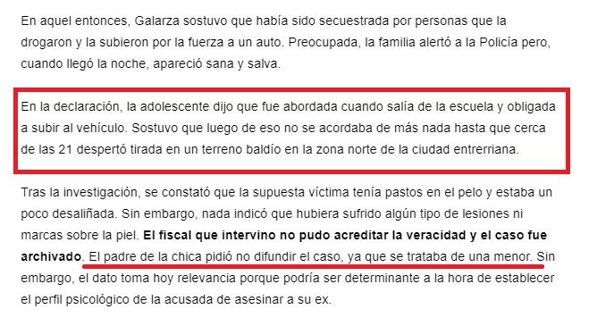 NAHIR GALARZA ASESINA ARGENTINA, MKULTRA? Jc18