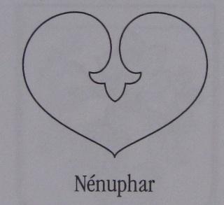 Le nénuphar Blason33