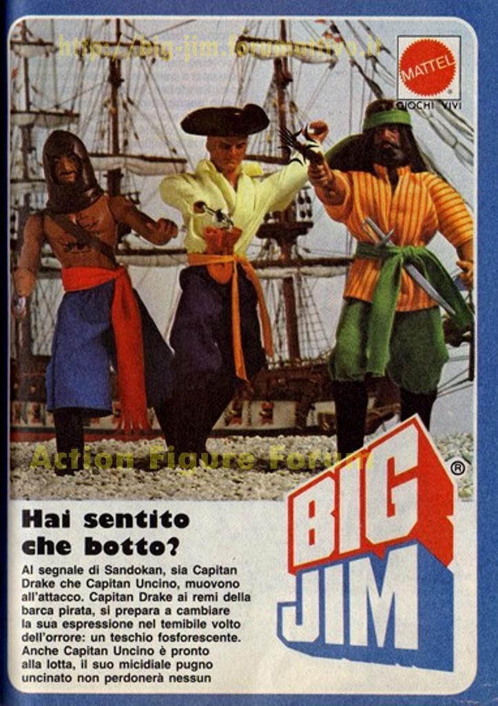 PUBBLICITA'  ITALIANE SERIE PIRATI Cat_d137