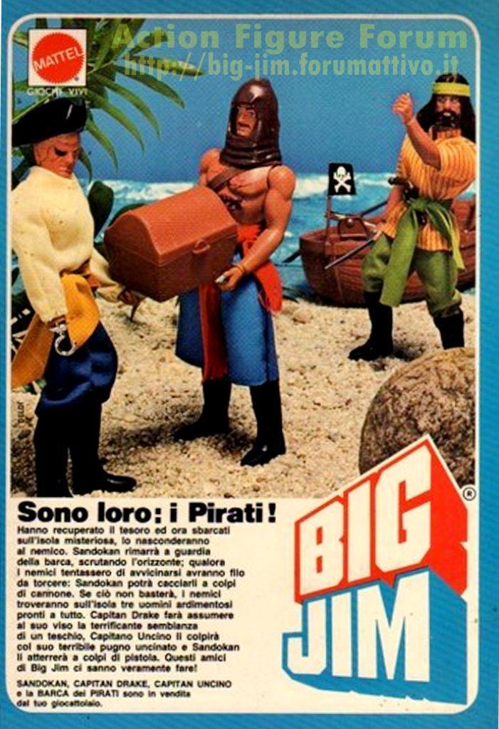 PUBBLICITA'  ITALIANE SERIE PIRATI Cat_d138