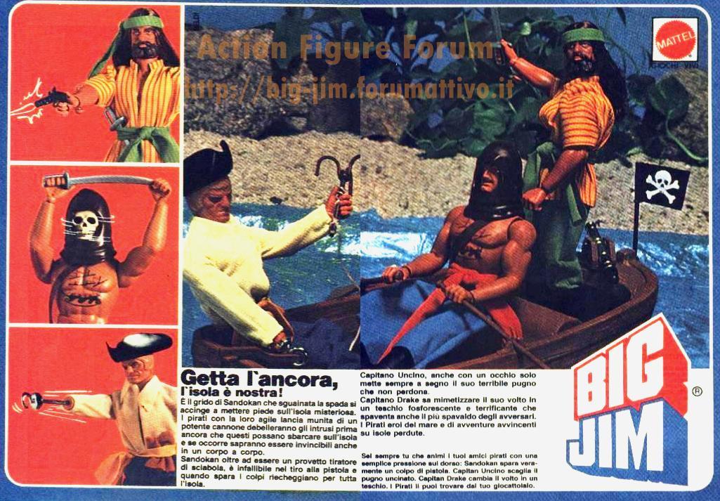 PUBBLICITA'  ITALIANE SERIE PIRATI Image137
