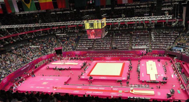 Photo du gymnase olympique de Londres Platea10