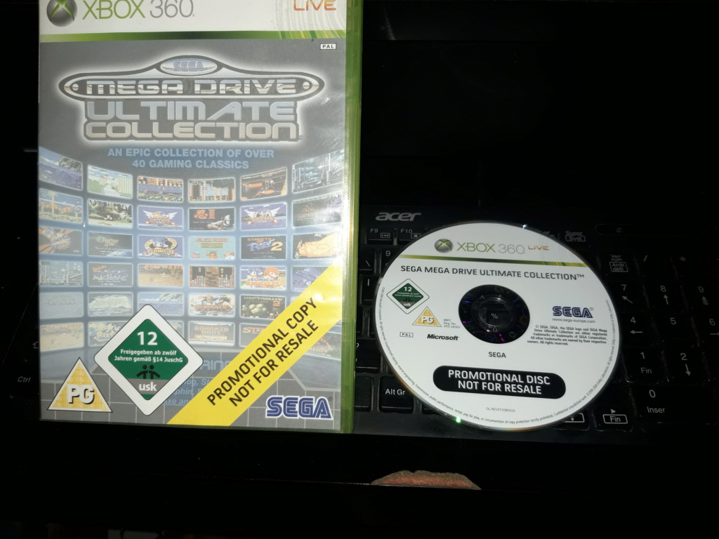 |Echange]xbox 360 promo crash et megadrive collection 20200411