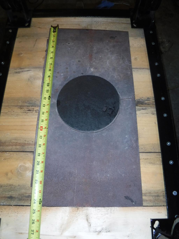 Plaque de fonte pour évaporateur Dscf7015