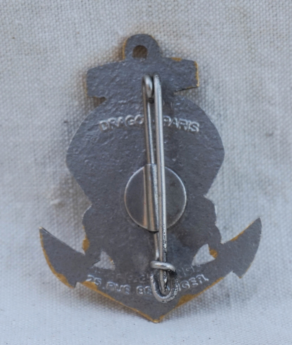 Insigne 6ème BCCP Parachutiste Indochine Drago Paris Nice 25 rue de Beranger - Page 2 1bccp210