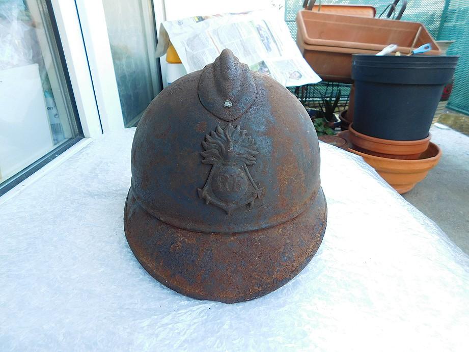 Adrian modéle 1915 Coloniale bleu pur jus Adrian10