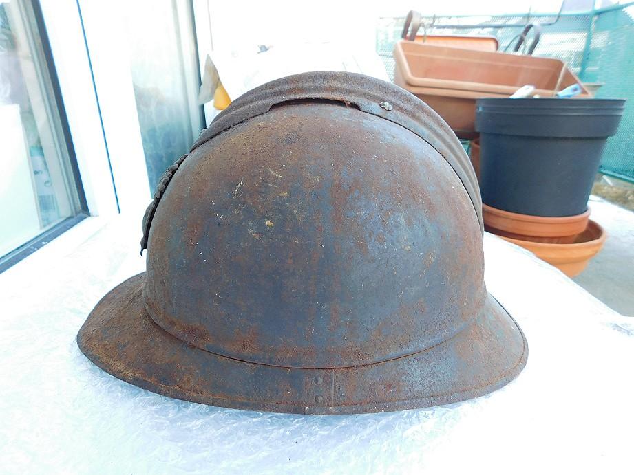 Adrian modéle 1915 Coloniale bleu pur jus Adrian11
