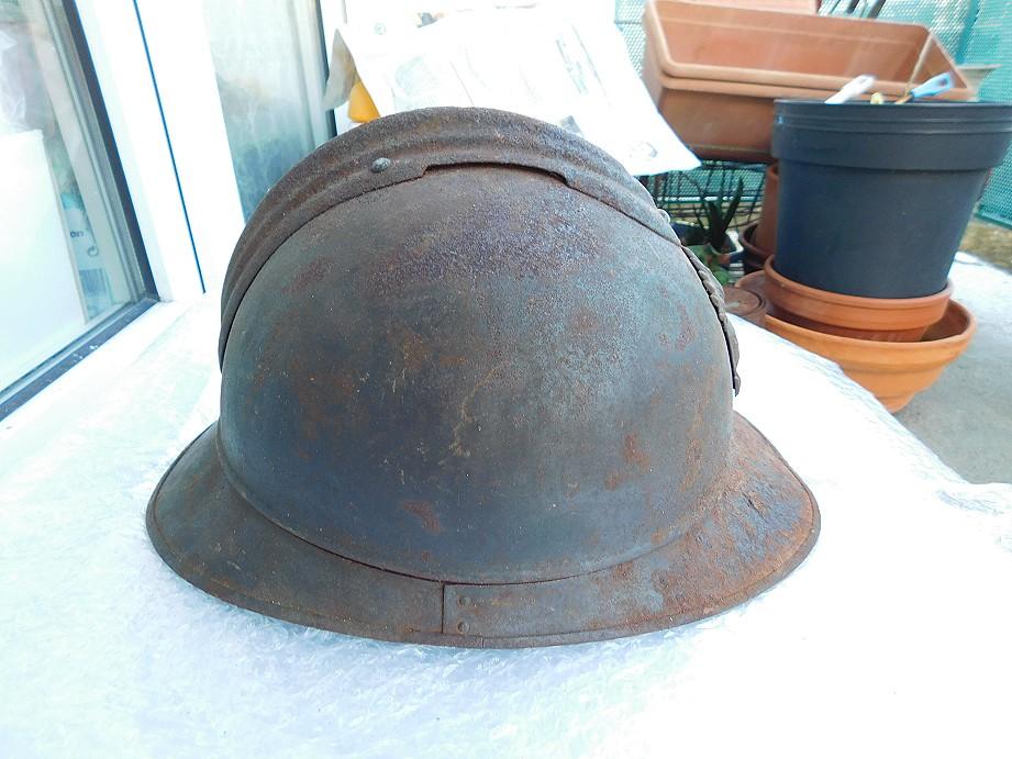 Adrian modéle 1915 Coloniale bleu pur jus Adrian12