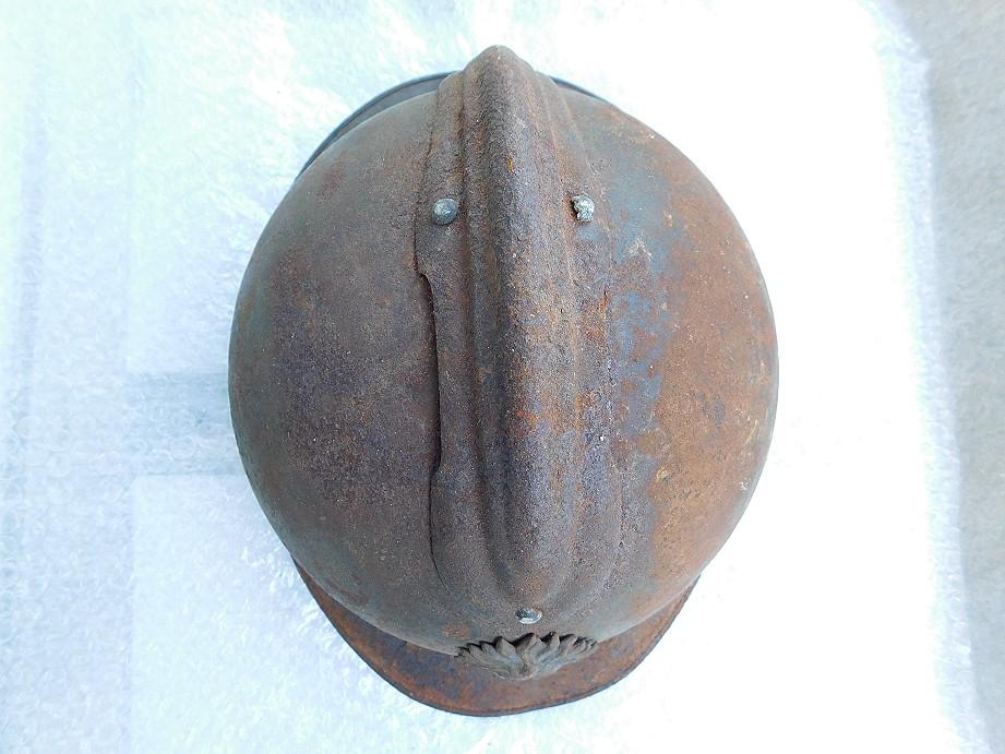 Adrian modéle 1915 Coloniale bleu pur jus Adrian13