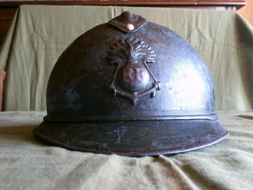 Adrian modéle 1915 Coloniale bleu pur jus Japymo11