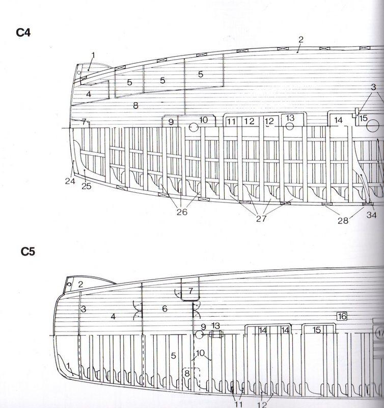 L'Agamemnon 1/64e Caldercraft, kit bashing... - Page 13 Img88410
