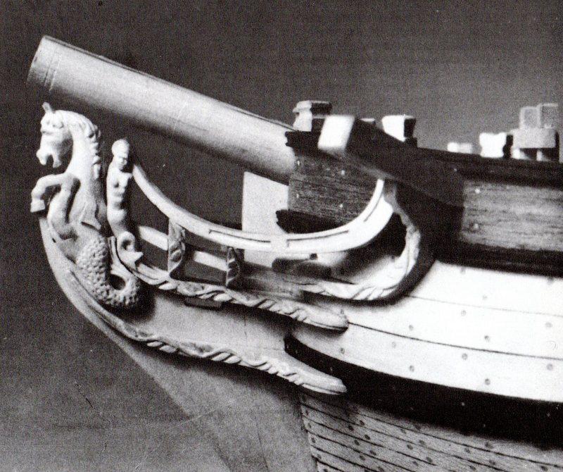 Planche d'une goëlette du XVIIIe sièccle du genre Colonial Schooner. Img95410