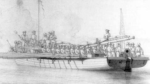 Kanonier-Schaluppe autrichienne sur le Rhin en 1795 ? Shallo11