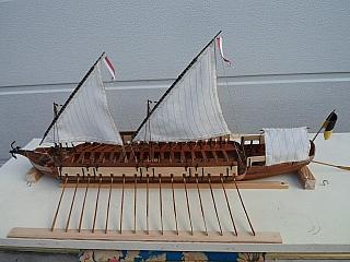 Kanonier-Schaluppe autrichienne sur le Rhin en 1795 ? T_sajk10