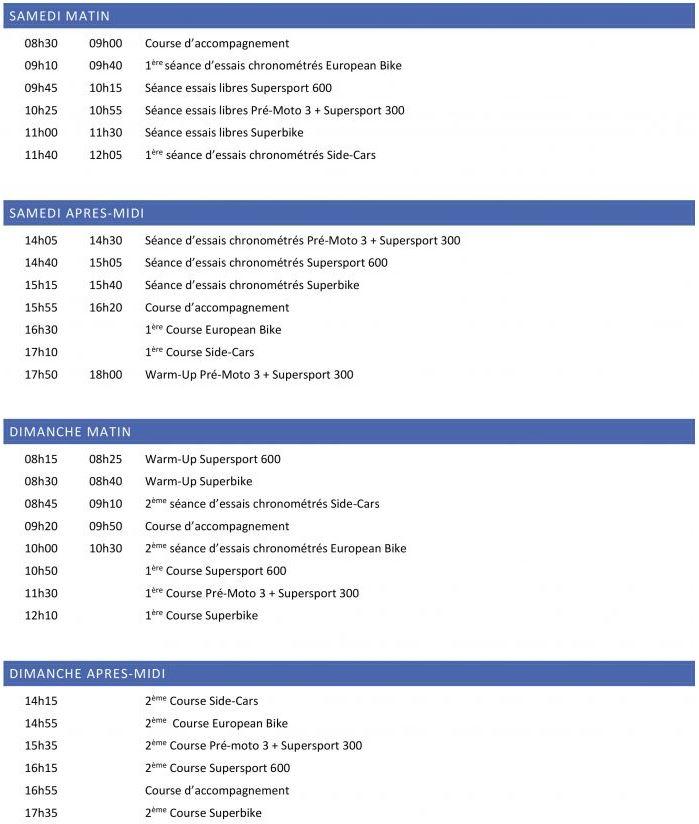 [FSBK] Ledenon 2020 les 11-12et13 Sept 2020 . Hor11