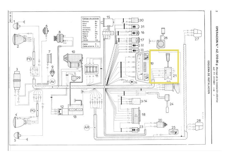 L'électricité pour les Nuls : le commodo de phares (5 et 7 plots) [à déplacer.Mis dans sommaire] Faisce10