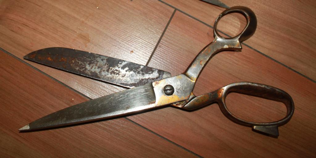 Restaurer de vieux ciseaux Scisor10