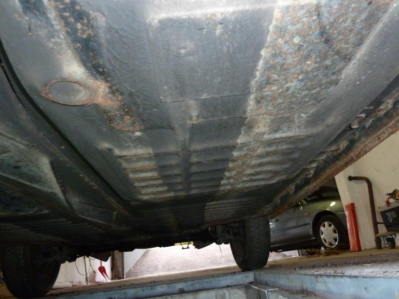 denis du bas rhin et sa Karmann Ghia de 73 sortie de grange - Page 6 P1010110