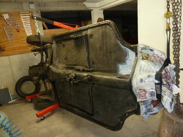 denis du bas rhin et sa Karmann Ghia de 73 sortie de grange - Page 6 P1080224