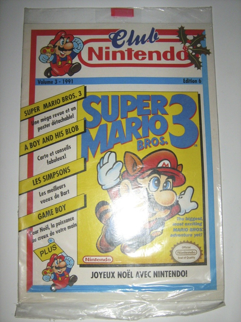 Ma collection mario : blister/console/jeux RARE et LIMITED (NEW 8/06) - Page 5 Img_1010