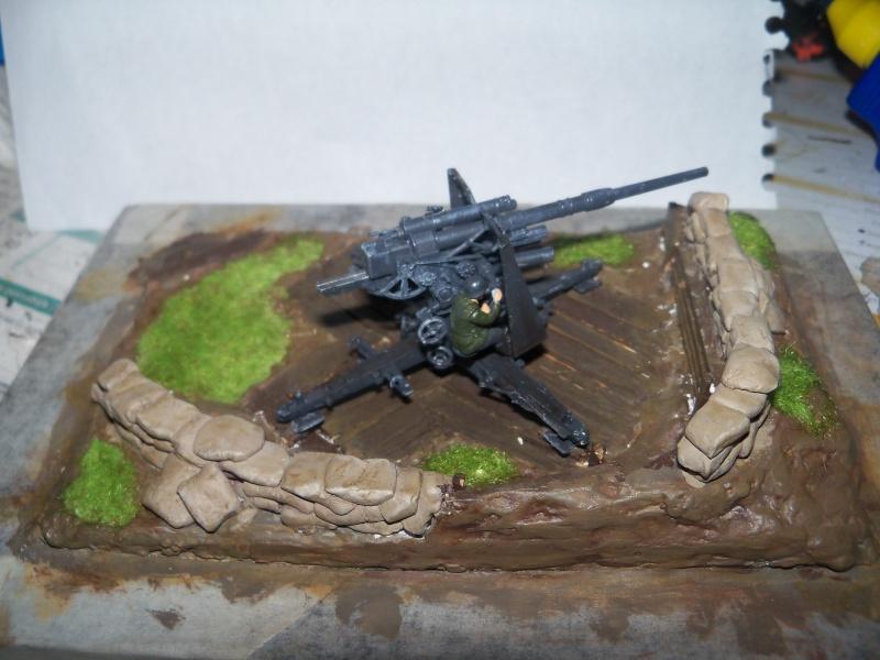 Position de tir flak 88mm (zevzda)  1/72 - Page 2 100_4537