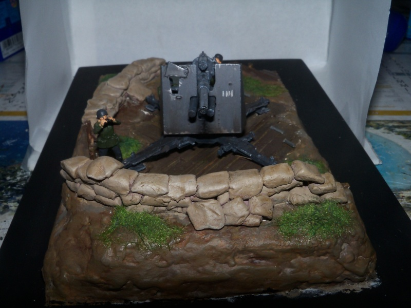 Position de tir flak 88mm (zevzda)  1/72 - Page 2 100_4613