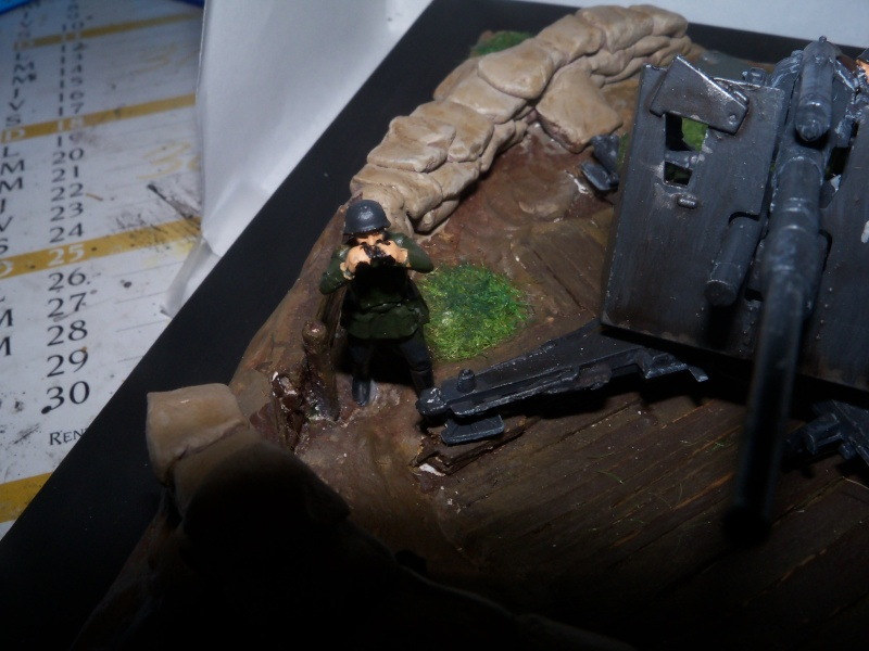 Position de tir flak 88mm (zevzda)  1/72 - Page 2 100_4618