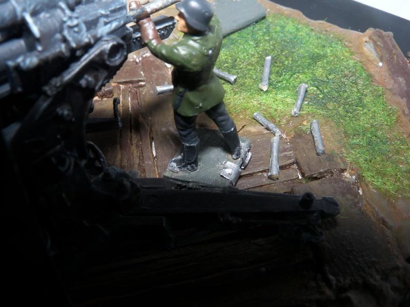 Position de tir flak 88mm (zevzda)  1/72 - Page 2 100_4619