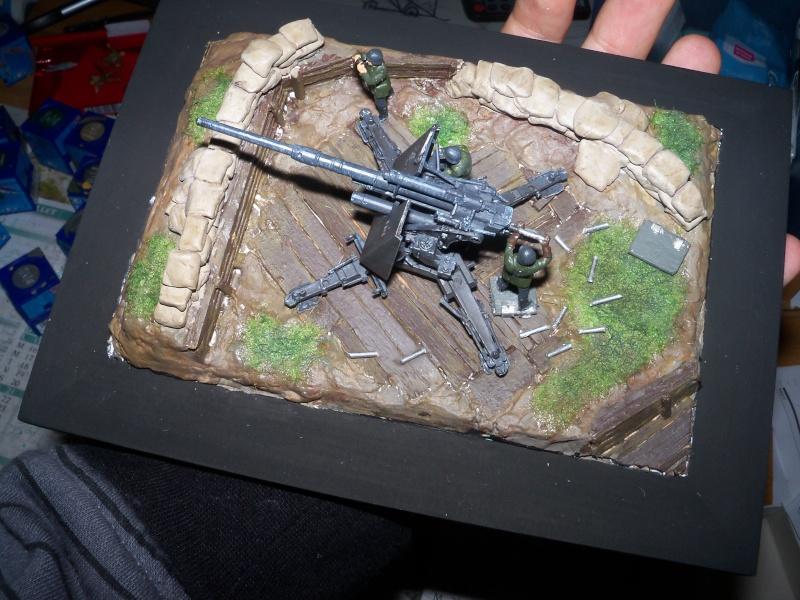 Position de tir flak 88mm (zevzda)  1/72 - Page 2 100_4620