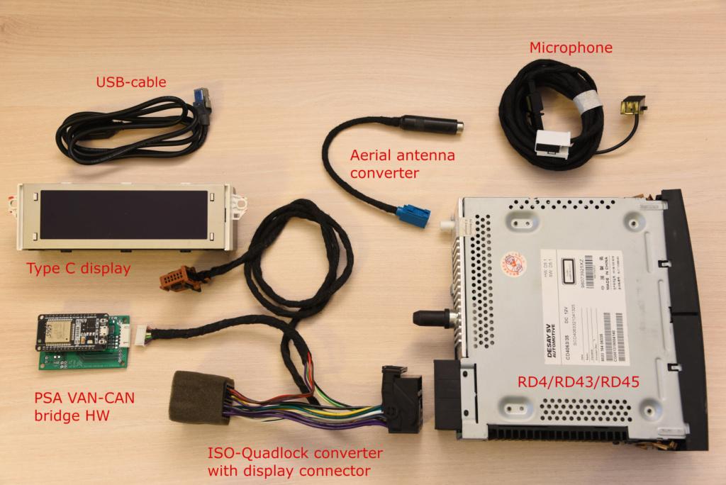 RD45 avec un nouveau module qui remplace le V2C Compon10