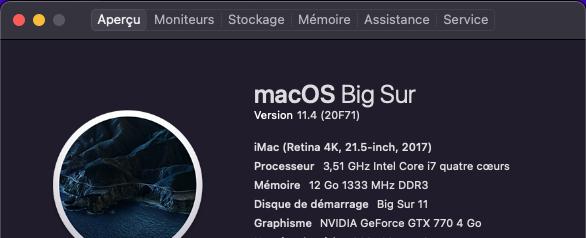mise à  jour Big Sur 11.4 ( 20F71 ) Captur65