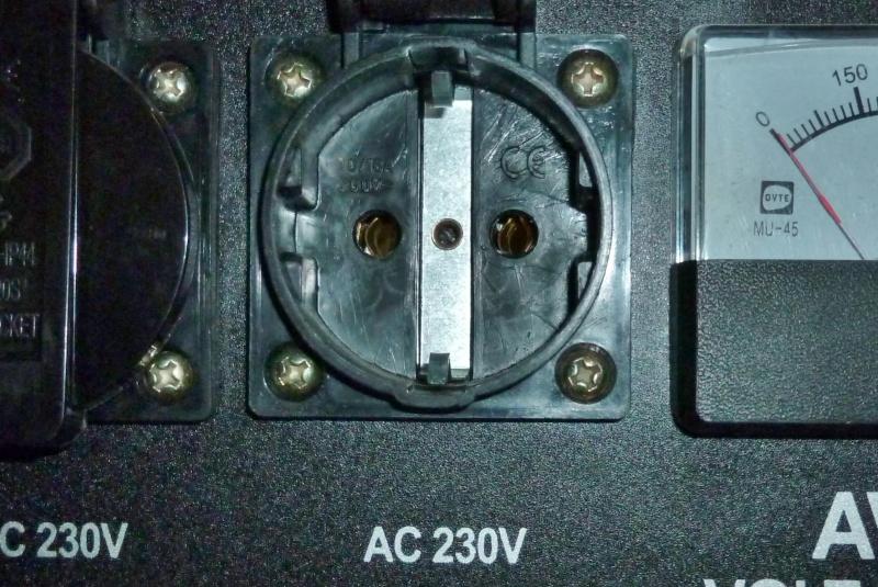 Protection contre les surcharges d'un groupe électrogène portatif Ge_5kv12