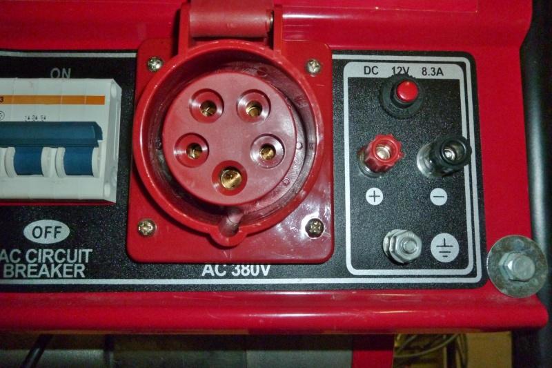 Protection contre les surcharges d'un groupe électrogène portatif Ge_5kv13