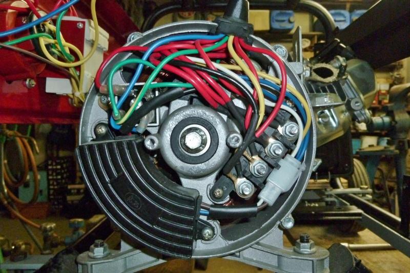 Protection contre les surcharges d'un groupe électrogène portatif Ge_5kv16