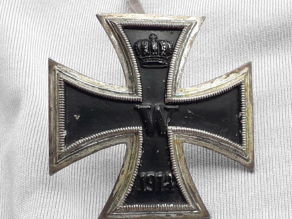 Croix de fer première classe ww1 39410210
