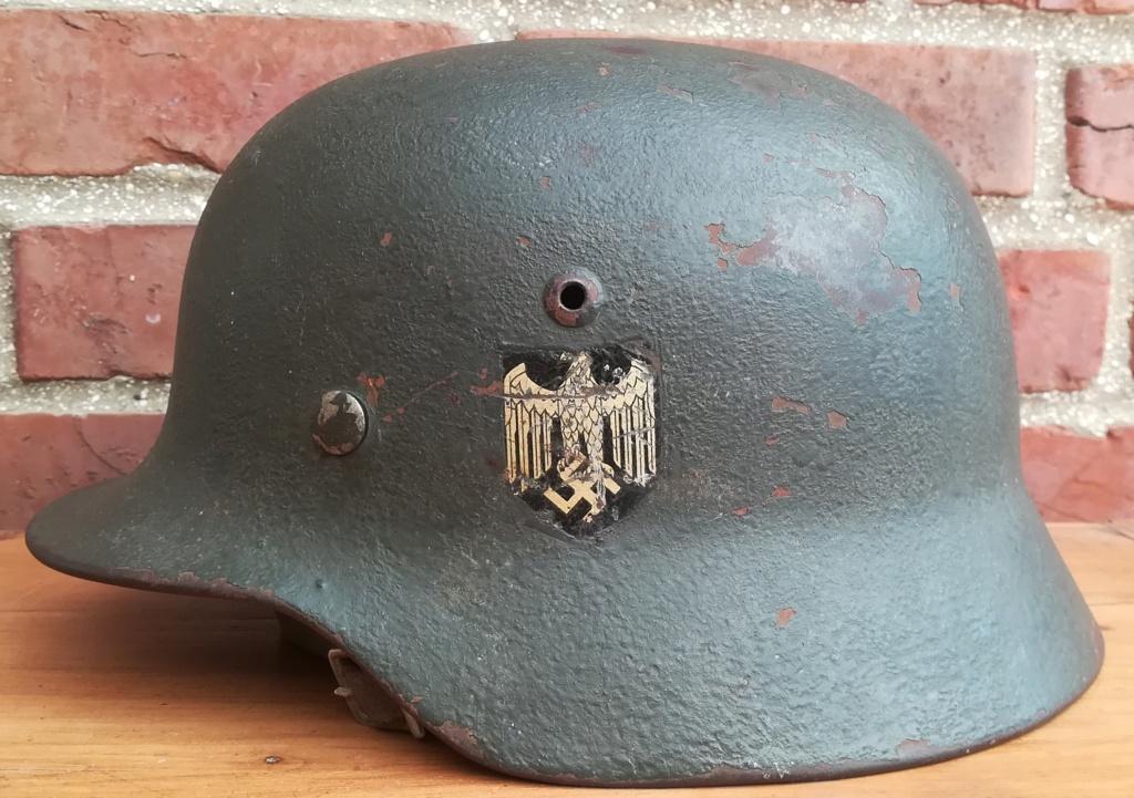 Casque mod 35 attribué à un régiment de char de combat  Img_2437