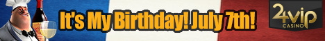 24VIP Casino Pascal Birthday Promo Free Spins Until July 22nd  24vip_10