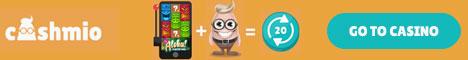 Cashmio Casino and Mobile 100%/50% Bonus + 20/50/100 Free Spins  Cashmi10